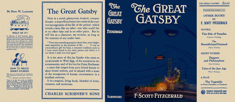 The Great Gatsby, F. Scott Fitzgerald - Essay