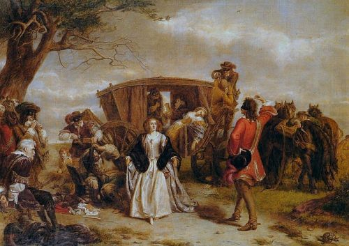 El banditismo romántico. William Powell Frith (19 January 1819 – 9 November 1909)